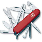 Victorinox Deluxe Tinker Pocket Knife (Red, Clamshell Packaging)