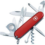 Victorinox Explorer Pocket Knife (Red, Clamshell Packaging)