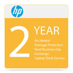 HP Next Business Day Exchange Service with Accidental Damage Protection for Elite x3 Desk Dock (2-Year)