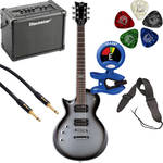 ESP LTD EC-50 Electric Guitar Starter Kit (Left-Handed, Silver Sunburst)