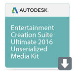 Autodesk Entertainment Creation Suite Ultimate 2016 Unserialized Media Kit