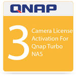 QNAP 3 Camera License Activation For Qnap Turbo NAS
