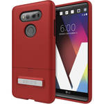 Seidio SURFACE Case with Kickstand for LG V20 (Dark Red/Black)