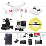 DJI Phantom 2 FPV Bundle with GoPro HERO4 Black and Backpack