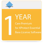 Milestone Care Premium for XProtect Essential Base License Software (1-Year)