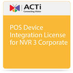 ACTi POS Device Integration License for NVR 3 Corporate