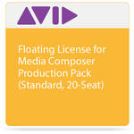 Avid Technologies Floating License for Media Composer | Production Pack (Standard, 20-Seat)