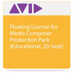 Avid Floating License for Media Composer | Production Pack (Educational, 20-Seat)