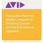 Avid Production Pack for Media Composer 8 (Floating License: 20 Pack Educational Upgrade)