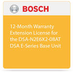 Bosch 12-Month Warranty Extension License for the DSA-N2E6X2-08AT DSA E-Series Base Unit