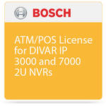 Bosch ATM/POS License for DIVAR IP 3000 and 7000 2U NVRs
