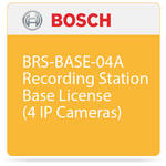 Bosch BRS-BASE-04A Recording Station Base License (4 IP Cameras)