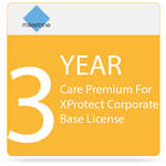Milestone Three Years Care Premium For XProtect Corporate Base License