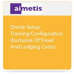 aimetis Onsite Service for Setup/Configuration/Training