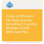 Milestone Trade-In of XProtect LPR Base License with Care Plus (Including 5 Country Modules)