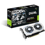 ASUS Dual OC GeForce GTX 1050 Ti Graphics Card