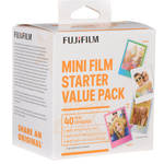Fujifilm instax mini Instant Film Starter Kit (40 Exposures)