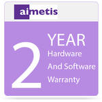 aimetis 2-Year Hardware and Software Warranty