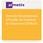 aimetis Remote Development of Code