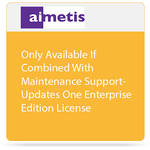 aimetis One Symphony 7 Enterprise Edition License Update to Latest Software Version (Combined with Maintenance Support)