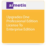 aimetis One Symphony 7 Professional Edition License Upgrade to Enterprise Edition