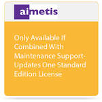 aimetis One Symphony 7 Standard Edition License Update to Latest Software Version (Combined with Maintenance Support)
