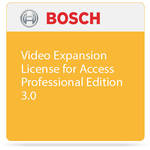 Bosch Video Expansion License for Access Professional Edition 3.0