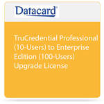 DATACARD TruCredential Professional (10-Users) to Enterprise Edition (100-Users) Upgrade License