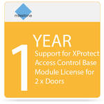 Milestone 1-Year SUP for XProtect Access Control Base Module License for 2 x Doors