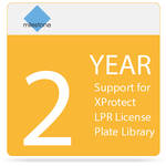 Milestone 2-Year SUP for XProtect LPR License Plate Library