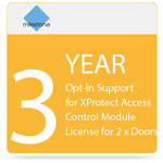 Milestone 3-Year Opt-In SUP for XProtect Access Control Module License for 2 x Doors