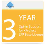 Milestone 3-Year Opt-In SUP for XProtect LPR Base License