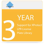 Milestone 3-Year SUP for XProtect LPR License Plate Library