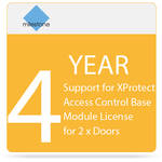 Milestone 4-Year SUP for XProtect Access Control Base Module License for 2 x Doors