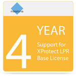 Milestone 4-Year SUP for XProtect LPR Base License