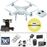 DJI Phantom 2 v2.0 Pre-Assembled Bundle with FPV Monitor, iOSD, & Wheeled Hard Case
