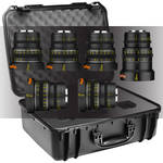 Veydra Mini Prime 6 Lens Master Lens Kit with 6 Lens Case (MFT Mount, Meters)