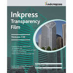 "Inkpress Media Transparency Film for Inkjet Printers (5 mil, 8.5 x 11"", 100 Sheets)"