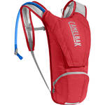 CAMELBAK Classic Hydration Pack with 2.5L Reservoir (Racing Red / Silver)