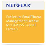 Netgear ProSecure Email Threat Management License for UTM25S Firewall (1-Year)