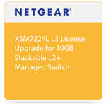 Netgear XSM7224L L3 License Upgrade for 10GB Stackable L2+ Managed Switch