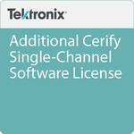 Tektronix Additional Cerify Single-Channel Software License