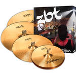 "Zildjian ZBT 5 Cymbal Set with 14"" ZBT Hi-Hats, 16"" ZBT Crash, 18"" ZBT Crash, 20"" ZBT Ride"