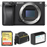Sony Alpha a6300 Mirrorless Digital Camera Body Basic Kit