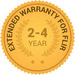 FLIR 2, 3, & 4-Year Extended Warranty for T620 and T620bx IR Cameras