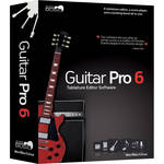 Arobas Music Guitar Pro 6 XL - Tablature and Scoring Software Plus 6 Soundbanks (XL Edition, Download)