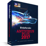 Bitdefender Antivirus Plus 2017 (1 Users, 1-Year License, Download)