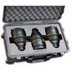 Jason Cases Protective Case for 3 Arri Zeiss Master Prime Lenses