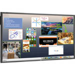 "NEC ThinkHub Standard with E805 80"" Monitor"