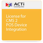 ACTi License for CMS 2 POS Device Integration
